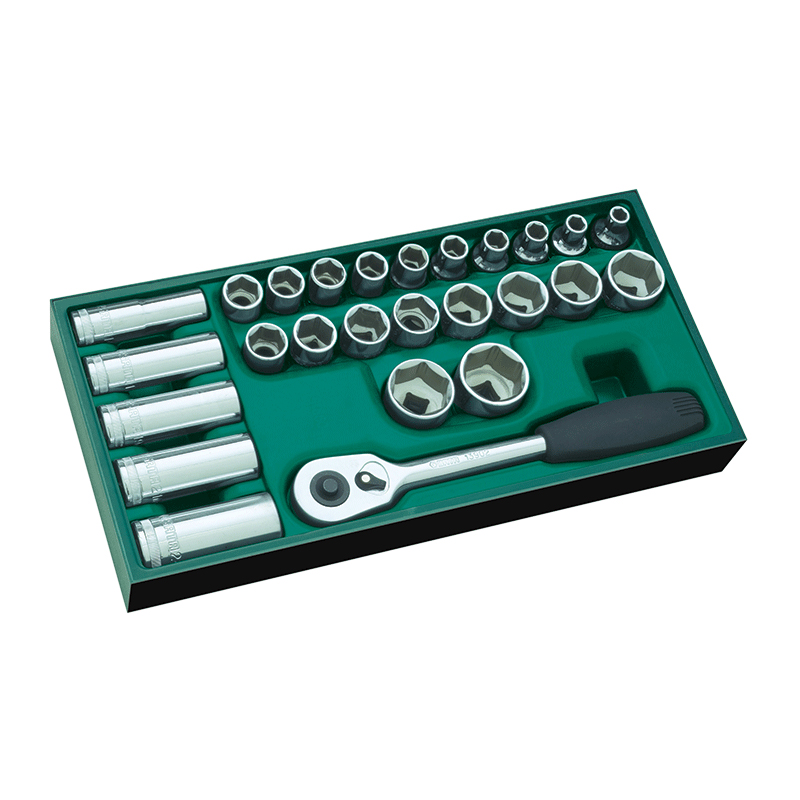 SATA 09915 For Tools. Tray (set) Heads P/n. 1/2