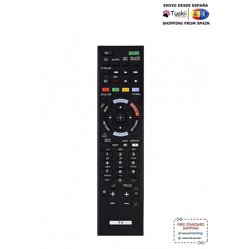 Remote controller Remote Checkpoint RM-ED058 For TV Sony image