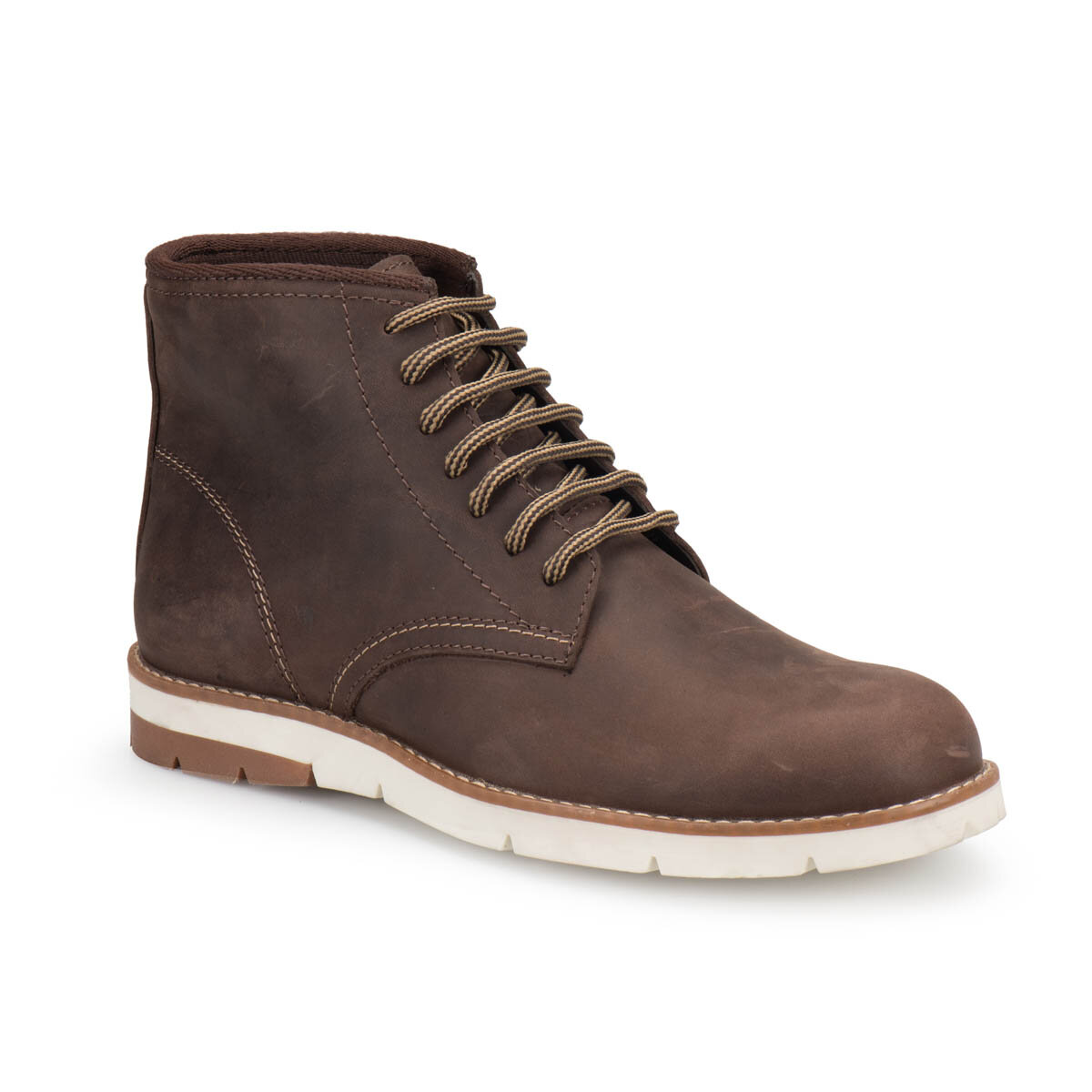 FLO 273 Brown Men Boots Forester