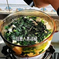 """#美食说出""""新年好""""#菠菜粉丝豆腐汤的做法图解11"""