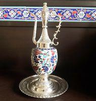 Otomano Turco Tulipa Desing Decorativo Jarro İbrik