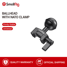 SmallRig Ballhead with NATO Clamp For SmallRig Articulating Rosette Arm   2133