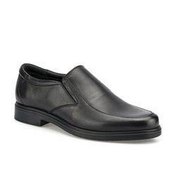 FLO 102005.M Schwarz Männer Komfort Schuhe Polaris 5 Punkt