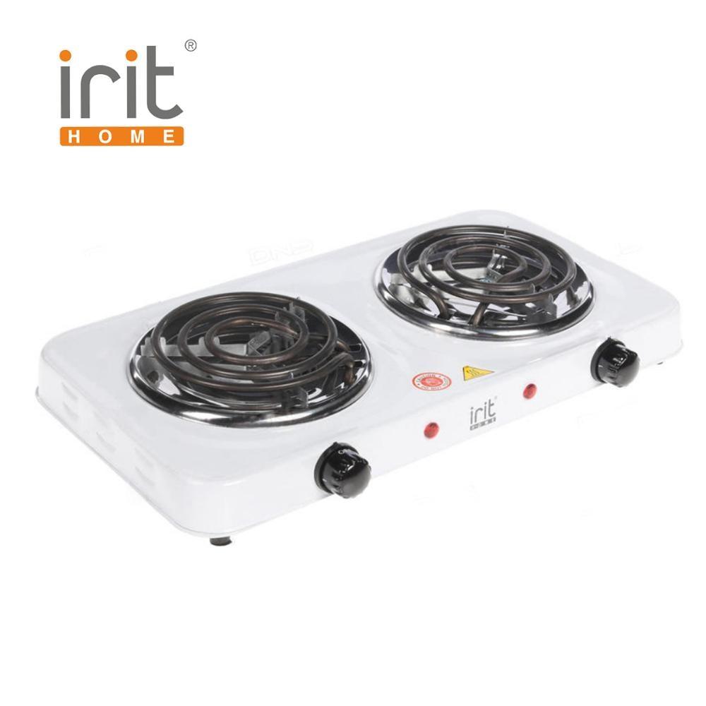 Плитка электрическая Irit IR-8120 (2 спирали по 1000 Вт)