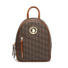 FLO US20091 Brown Women Backpack U.S. POLO ASSN.