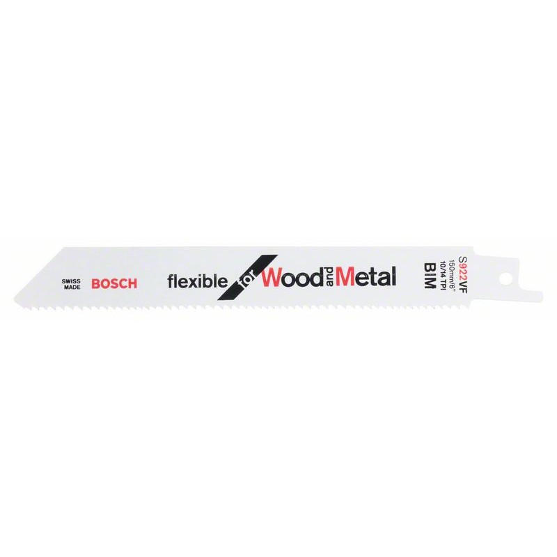 BOSCH-saw Blade Sable S 922 VF Bendable For Wood & Metal