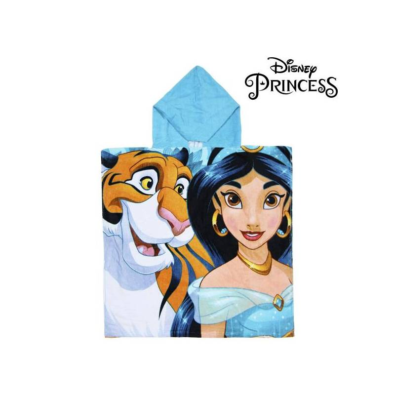 Strikeout-hooded Towel Jasmin Disney Princess 74201