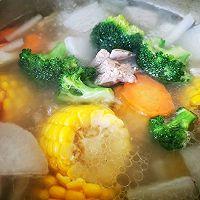 #新春美味菜肴#杂蔬排骨汤的做法图解6