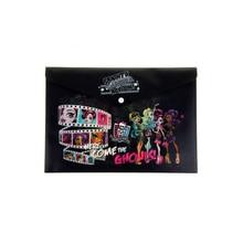 Папка пластиковая Hatber Monster High формат А4