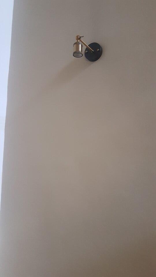 Luminárias de parede Lâmpada Banhado Industrial