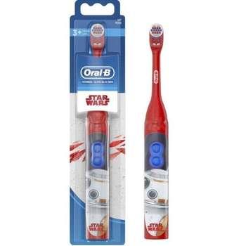 Braun Oral-B dental brush d4 kids star wars-2d cleaning system-2 batteries * aa
