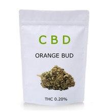Fleur de Chanvre Orange 100% naturelle de Qualité supérieure