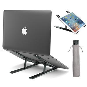 Image 3 - LINGCHEN soporte plegable para ordenador portátil, soporte de aleación de aluminio para MacBook Pro Air Notebook