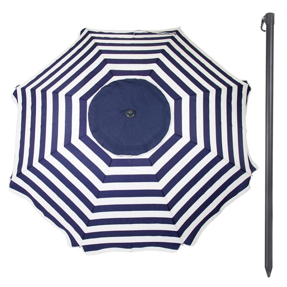 Praia deslocada guarda-chuva d240 cm protegida uv30 aktive praia