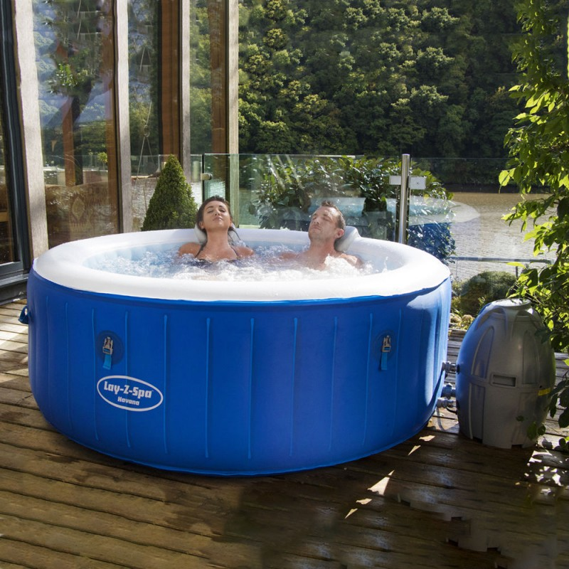 Spa Pool Lay/_/Z Havana 180x66 Cm 4 People