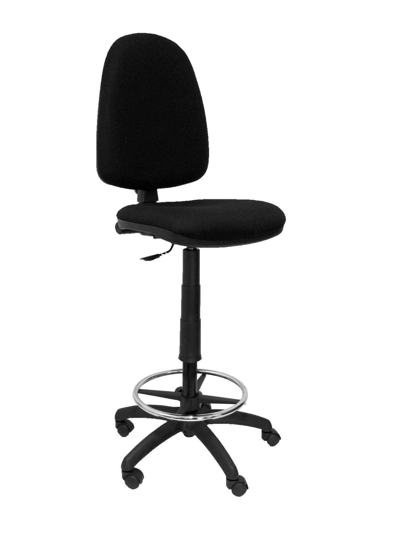 Stool Ergonomic With Permanent Contact's House Mechanism, Dimmable In High Altitude And Hoop Foot Pegs Up Seat And Backstop Tap