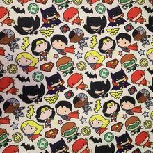 Cartoon Fabric Hot DIY140*50cm Handmade Sewing Patchwork Quilting Baby Dress Home Sheet Printed Fabric Fabric Sewing Kids Fabric