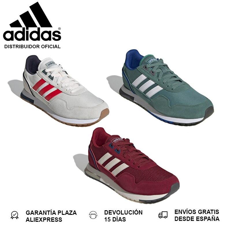 Adidas 8K 2020, Zapatillas para Hombre, Horma Clásica, Cordones, Suela de Goma, Mediasuela de EVA, Parte Superior Piel NUEVO|Zapatillas de correr| - AliExpress