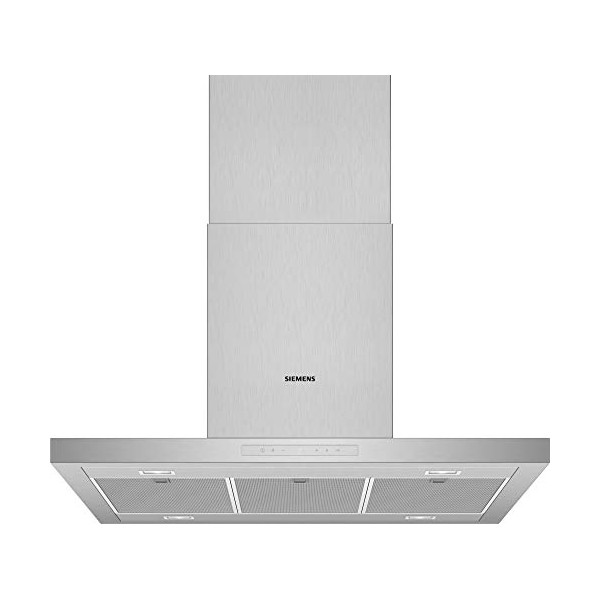 Conventional Hood Siemens AG LF97BCP50 90 Cm 690 M³/h 140W A+ Stainless Steel