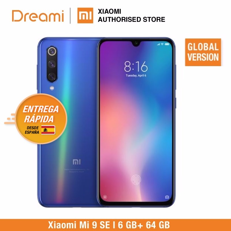 Global Version Xiaomi Mi 9 SE 64GB ROM 6GB RAM (Official Rom) Mi9 SE 64gb-in Cellphones from Cellphones & Telecommunications