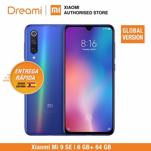 Global Version Xiaomi Mi 9 SE 64GB ROM 6GB RAM (Official Rom) Mi9 SE 64gb