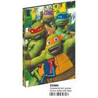 Turtles Ninja MC 53980 carpetas  (Montichelvo 53980)|Binder Index Dividers|   -
