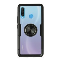 Housing with ring Huawei P30 Lite 360 Ring Black