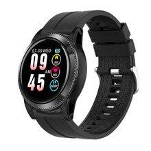 Reloj inteligente Accalia Monitor de ritmo cardíaco reloj deportivo resistente al agua pulsera inteligente rastreador de Fitness banda inteligente
