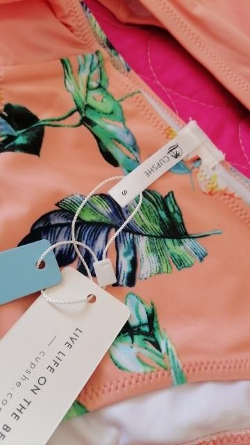 Women's Bikini Set In Pink Color photo review