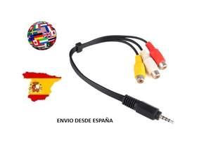 Av-Cable Scart Cccam Dvb S2 Europe New And Flower 4u 6u