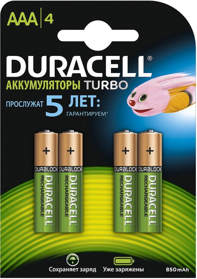 Battery DURACELL HR03-4BL Б0014861