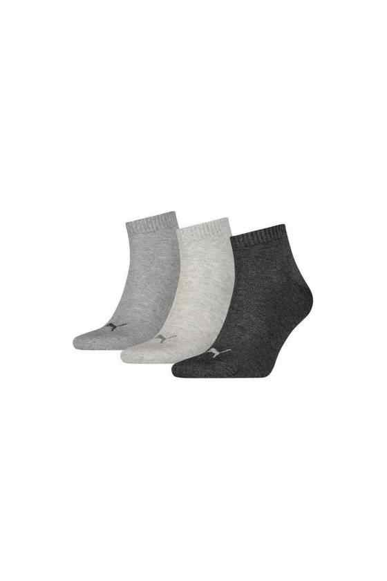 PACK of 3 PUMA socks UNISEX QUARTER PLAIN| | - AliExpress