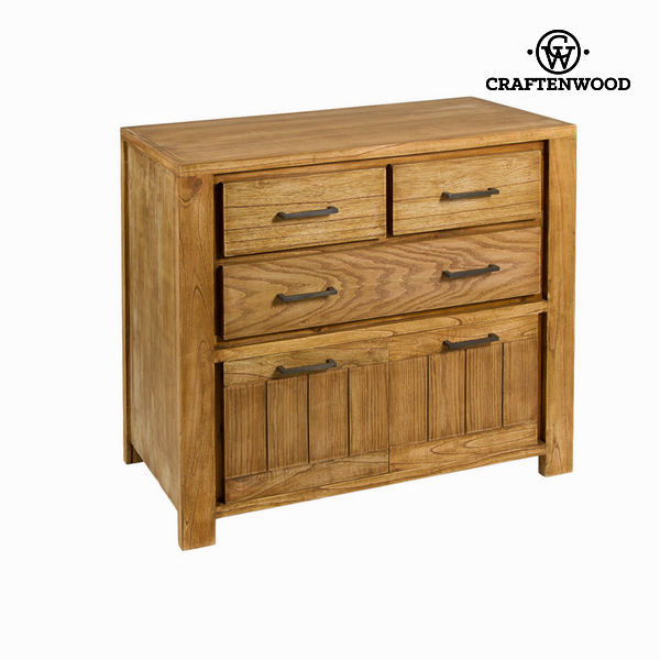 Chest Of Drawers Mindi Wood (90 X 45 X 87 Cm) - Square Collection By Craftenwood