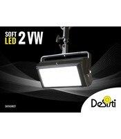 DESISTI SOFT LED 2 VARI WHITE adjustable VARIABLE temperature 2800 ° k to 6500 ° k