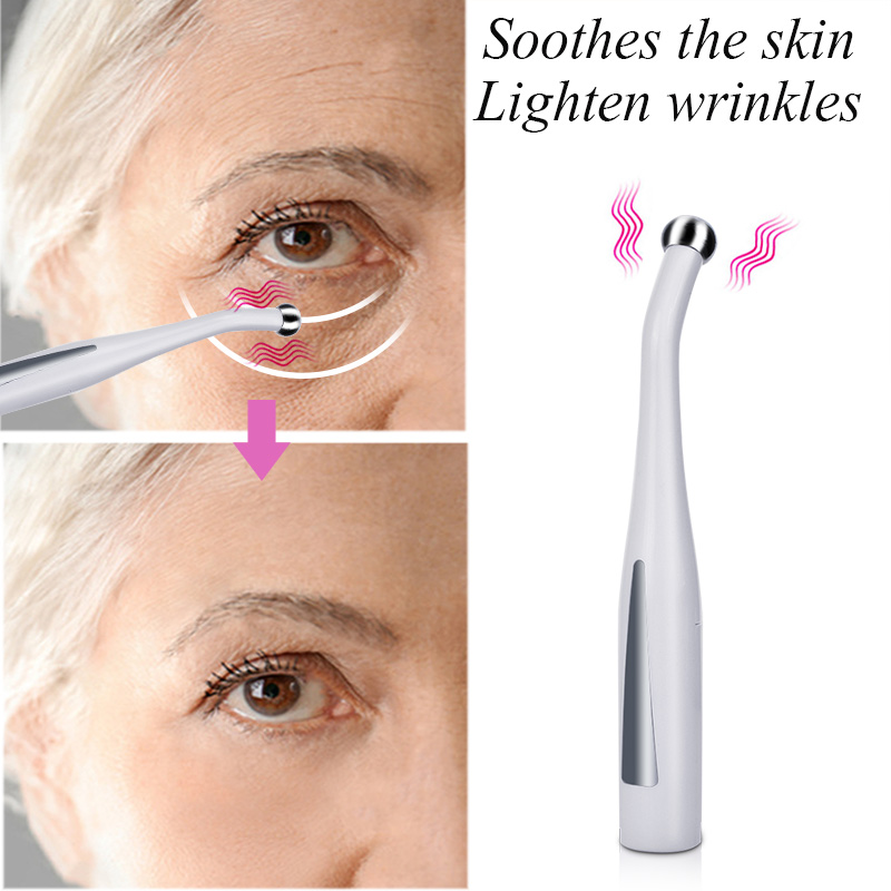 Electric Eye Massager Mini Eyes Wrinkle Dark Circles Removal Pen Anti Aging Massager Anti Aging Vibration Face Lifting Tool