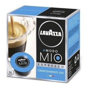 Creamy decaffeinated Espresso, 16 capsules, Lavazza