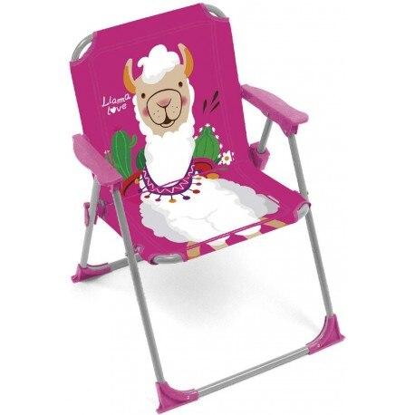 Cadeira dobrável para crianças com braços para meninos e meninas