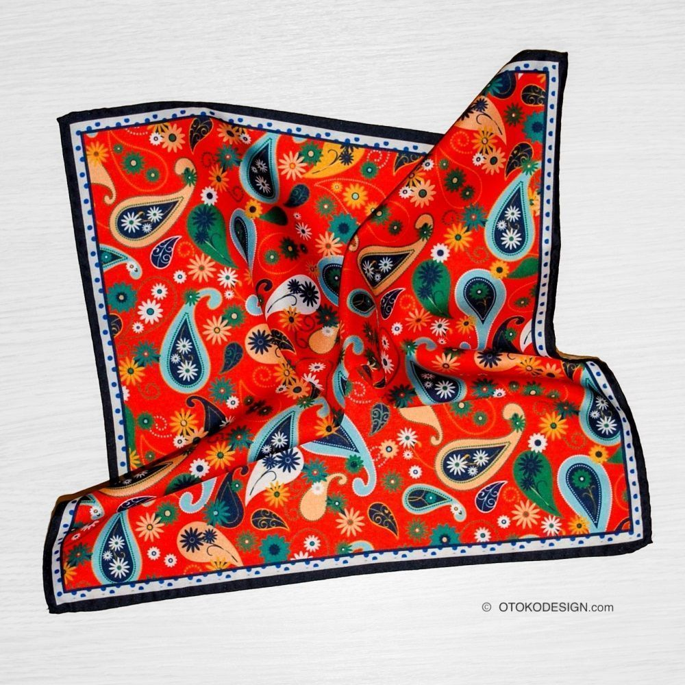 Red Pocket Square (50030)