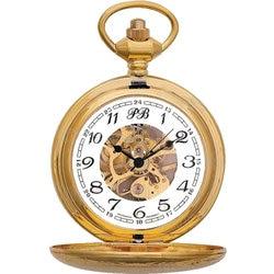 Pocket Watch n time 2136896 skeleton mechanical Mens