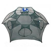 Spider fishing reel, reinforced fishing net, automatic folding fishing net, fishing tackle, fishing net