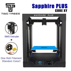 Image 1 - Stampante 3D Twotrees Sapphire Plus COREXY BMG estrusore dimensione massima di stampa 300*300*350mm kit fai da te 3.5 Touch Screen FDM doppio asse Z