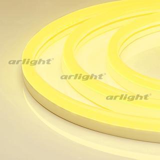 021160 Flexible Neon ARL-CF2835-Classic-220V Yellow (26x15mm) Катушка-50. ARLIGHT-Светодиодный Decor/Flexible Neon [ARL] ^ 65