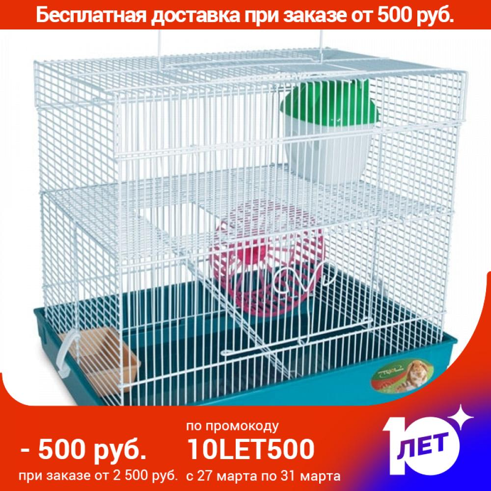 Cage Triol 4101K For Rodents, 39,5x29.5x37 Cm.