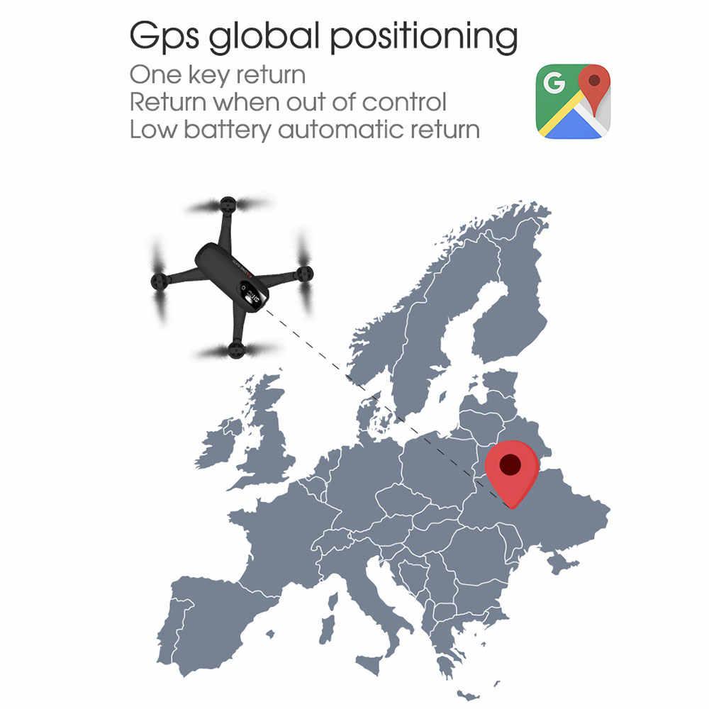 Baru Shrc H1G 1080P 5G Wifi FPV GPS Ikuti Saya Mode Lipat 25 Menit Waktu Penerbangan RC Drone quadcopter RTF