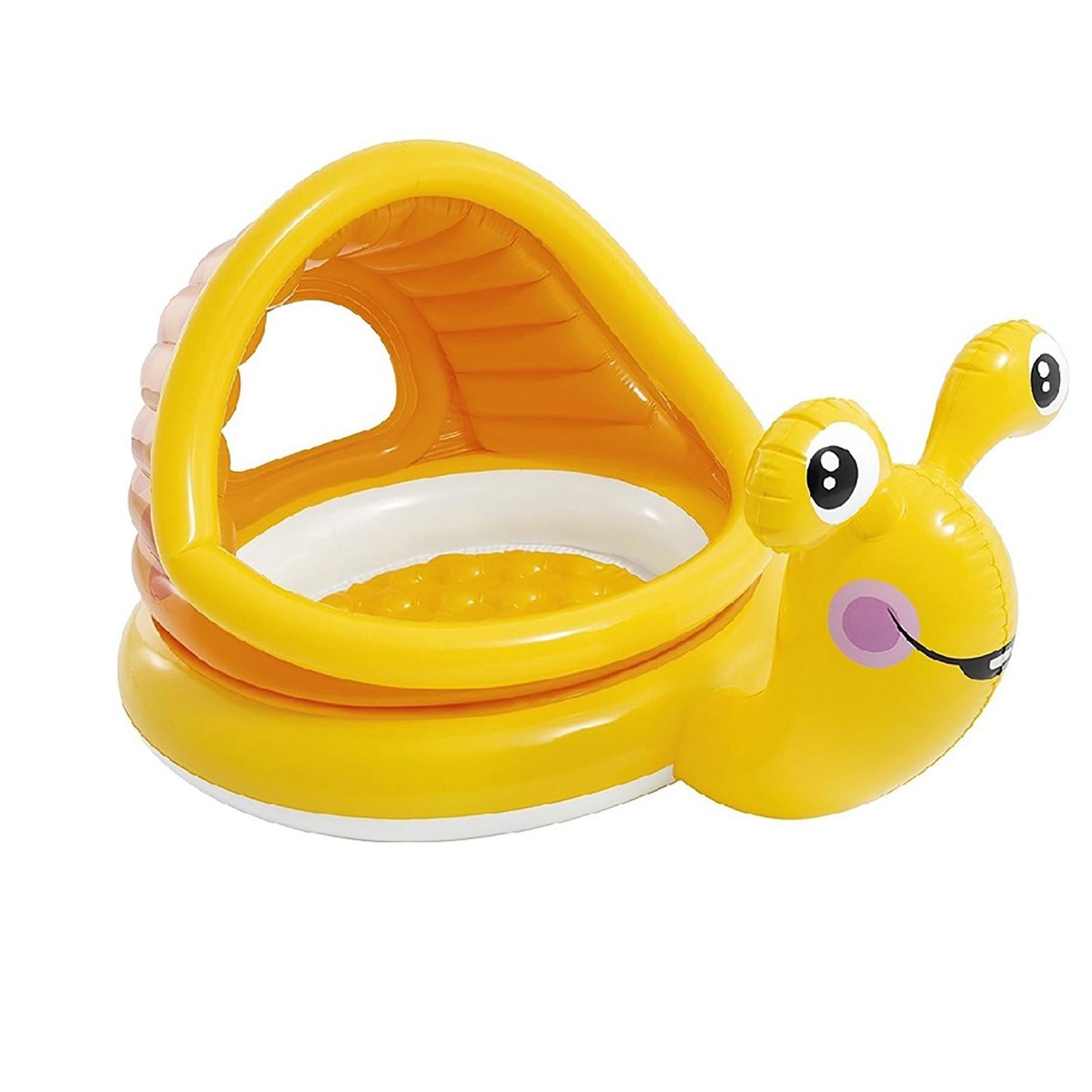 Ebebek İntex Snail Baby Pool 145x102x74 Cm