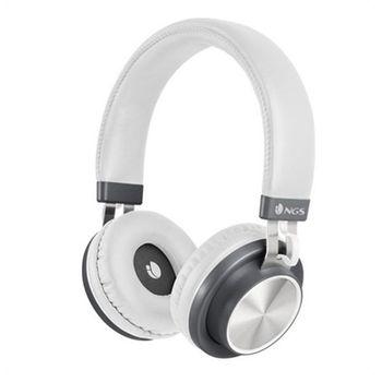 Bluetooth Headset Met Microfoon Ngs Articapatrolwhite Wit Telefoonheadsets Mobiele telefoons & telecommunicatie -