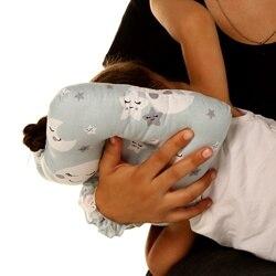 Ebebek baby & plus Мини Подушка для кормления небо с рисунком хлопок 0 месяцев +