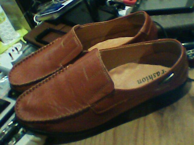 Mocassins en cuir véritable pour hommes chaussures décontractées