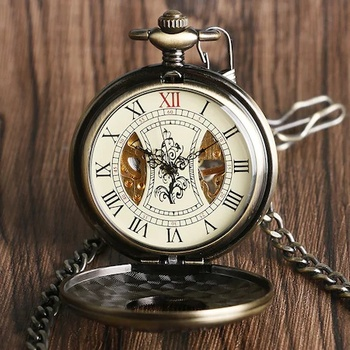 STEAMPUNK RETRO SERKİSOF KÖSTEKLİ MOBILE CLOCK SPECIAL ZİNCİRLİ BRONZE QUARTZ POCKET CLOCK CHAIN NECKLACE MEN WOMEN STYLISH RETRO retro bronze men fashion pocket watch national austria the double eagle chain necklace quartz full hunter emblem clock male