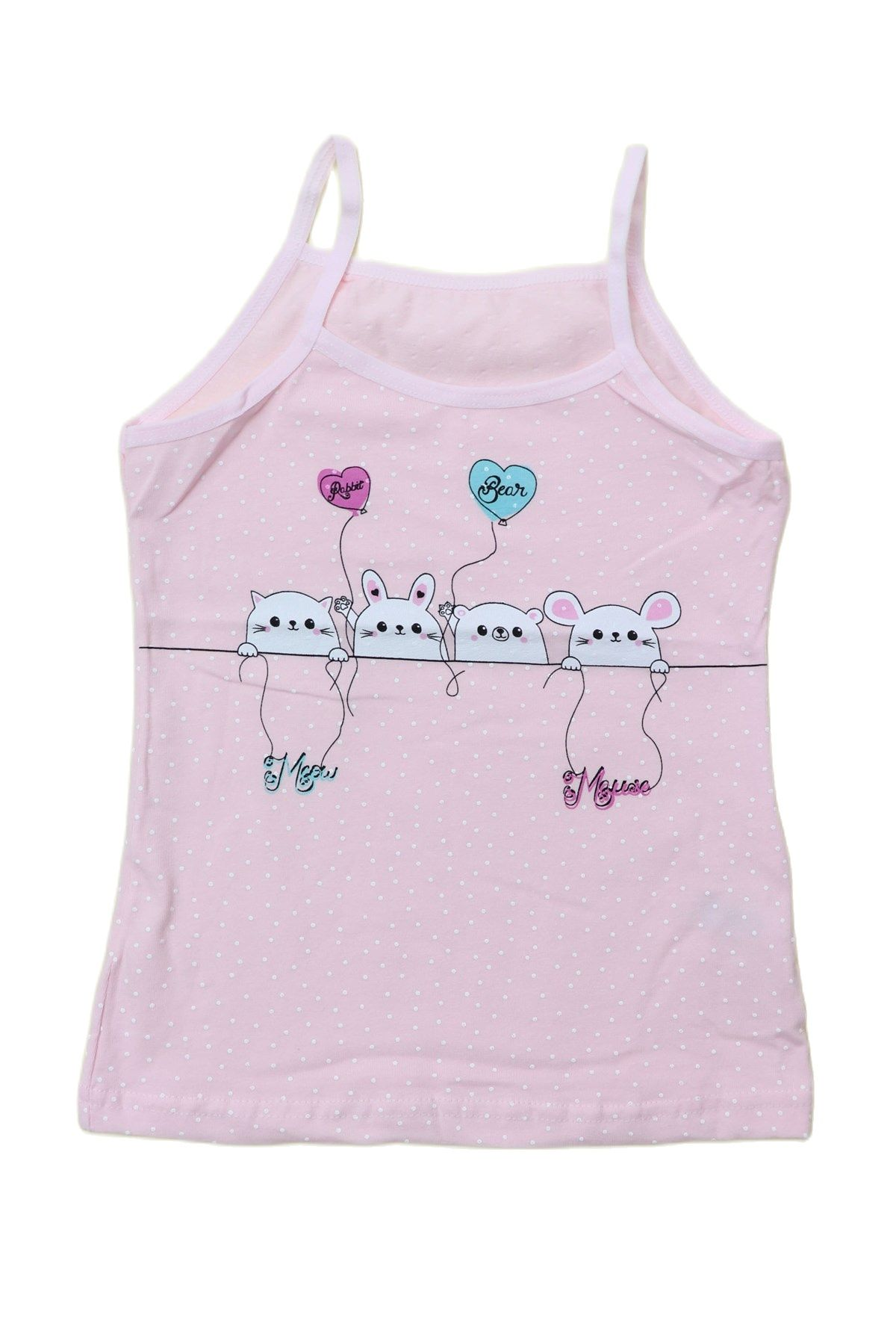 3 Pack 4-14 Year Cotton Girls Undershirt Camisole Tank Top Teenage Children's clothing Kids Underwear Singlet Sleeveless